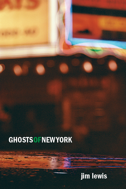 Ghosts of New York cover