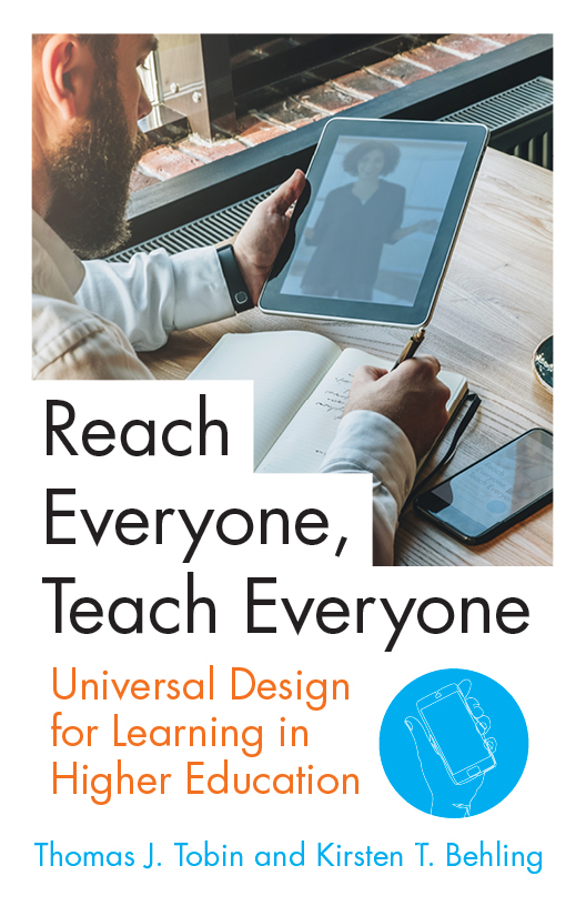 book cover: Reach Everyone, Teach Everyone: Universal Design for Learning in Higher Education